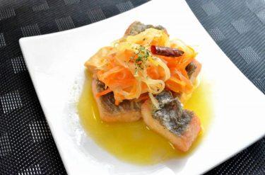 ワインにも合う!お魚のエスカベッシュ(洋風南蛮漬け)の作り方【インスタ映えレシピ】