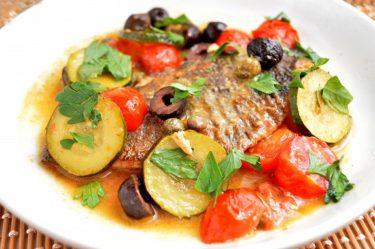 お好みの白身魚で♪アクアパッツァの作り方【インスタ映えレシピ】