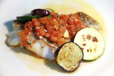 さっぱり夏野菜と。白身魚のソースヴェルジュ【インスタ映えレシピ】