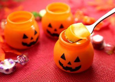 具がごろっと♪ハロウィンかぼちゃプリンの作り方【インスタ映えレシピ】